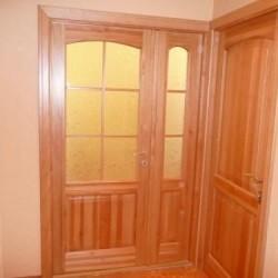 Priedes koka durvis no galdniecības Krasts-R