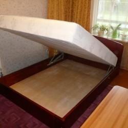 Paceļamās koka gultas no galdniecības Krasts-R