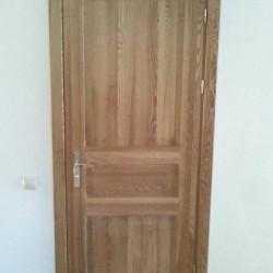 Iekšdurvis, oša koka durvis, masivkoka durvis,